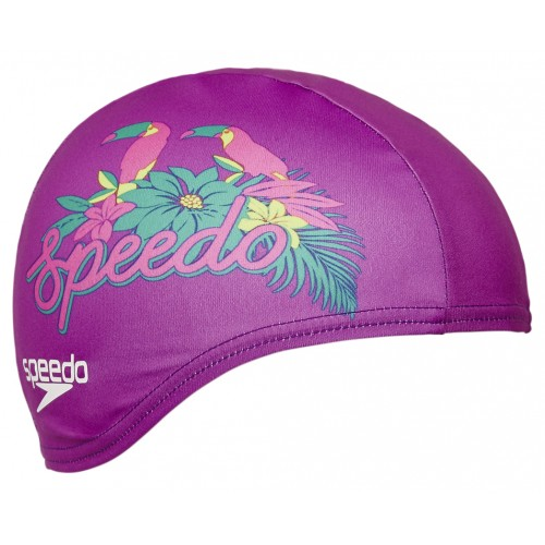 SPEEDO PRT POLY CAP SWIMMING CAP (LILA)