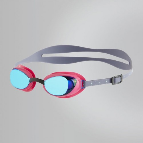 Aquapure Mirror Female Goggle (Pink/Blue)