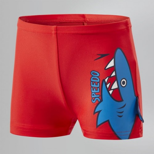 Fin Friends Aquashort (Red/Blue)