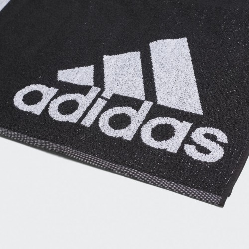 ADIDAS SWIM TOWEL L (70 x 140 black/white)