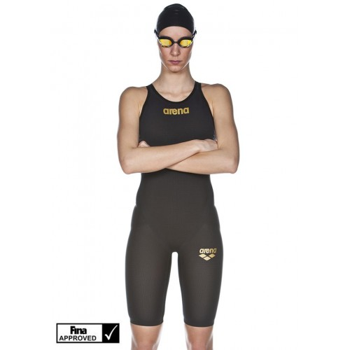 Arena Women's Powerskin Carbon-Flex VX Full Body Short Leg Open Back
