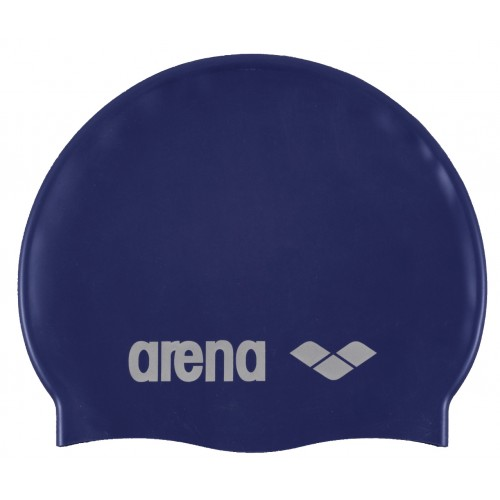 CLASSIC SILICONE CAP (NAVY,SILVER)